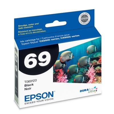 Epson 69 Ink Cartridges, Black (T069120)