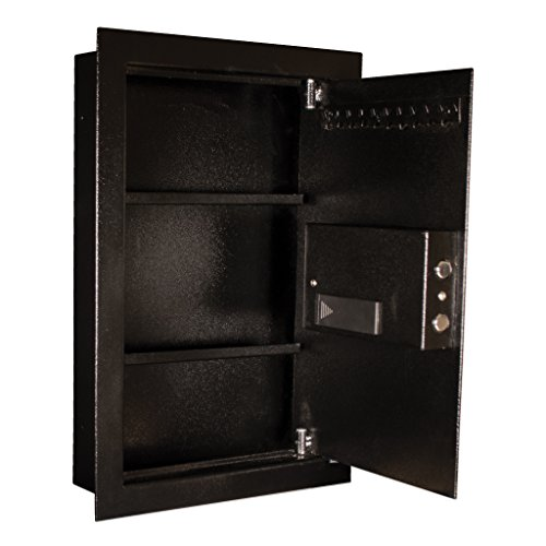 Tracker Safe WS211404-E Steel Wall Safe, Electronic Lock, Black Powder Coat Paint, 0.60 cu. ft. by Tracker Safe (Image #3)