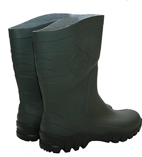 Dunlop  Dee,  Damen Herren Jungen Arbeits-Gummistiefel Grün