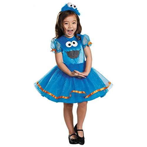 Deluxe Cookie Monster Tutu Costume - Toddler Large
