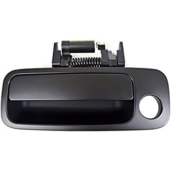 Pt Auto Warehouse To 3219p Fr Outside Exterior Outer Door Handle Primed Black