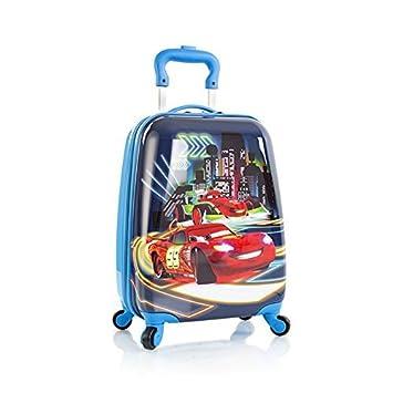 Heys Disney Pixar Cars Spinner Luggage Case Night Lights
