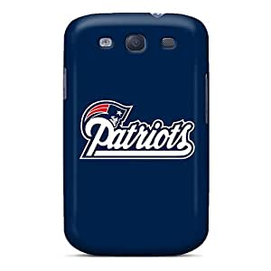 Scratch Resistant Hard Phone Covers For Samsung Galaxy S3 (Ltt4173qYnr) Support Personal Customs Realistic New England Patriots Pattern