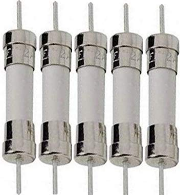 (5A 250V, Axial Ceramic Fuses 5x20mm Slow Blow (5-Pack) )