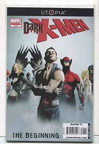 Dark X-Men Utopia Set 1-3 NM Marvel Comics LG1