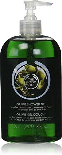 The Body Shop Olive Shower Gel Jumbo, 25.3 Fluid Ounces