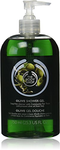 Gel Olive (The Body Shop Olive Shower Gel Jumbo, 25.3 Fluid Ounces (Packagin May Vary))