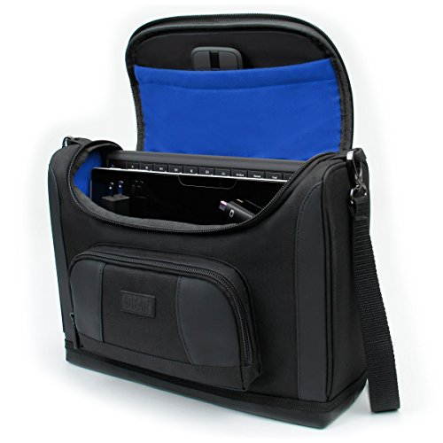 (USA GEAR Tablet Messenger Bag 12