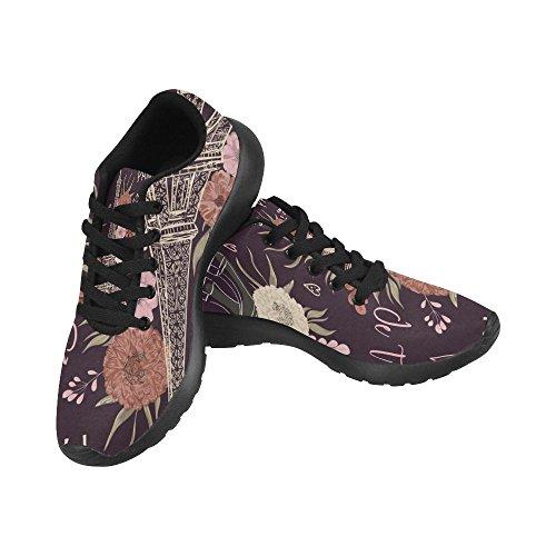Interestprint Femmes Jogging Running Sneaker Léger Aller Facile Marche Confort Décontracté Sport Chaussures De Course Multi 11