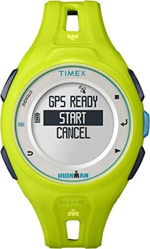 Timex Reloj Infantil de Cuarzo con para Mujer Coronado Controls Pantalla Digital y Verde Correa de Resina TW5K87500