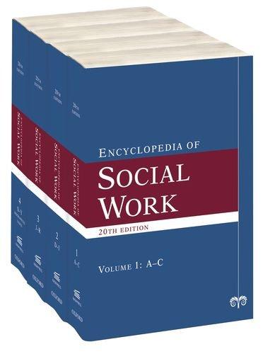 The Encyclopedia of Social Work (4 Volume Set)