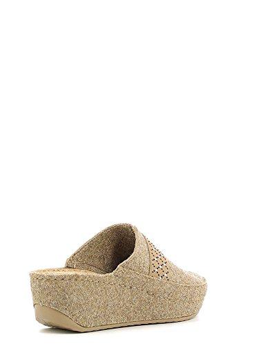 Ci1079 Grunland Pantofole Taupe Grunland Donna Pantofole UTwS1OF7g