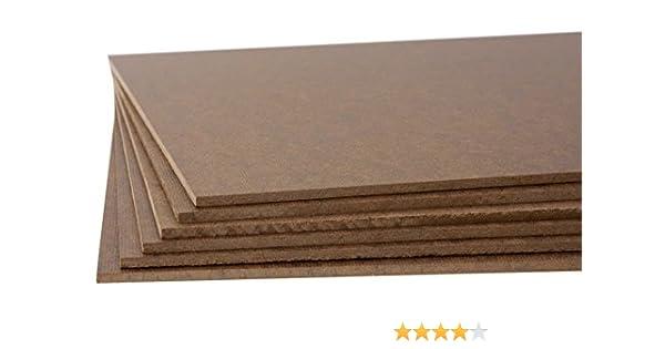 Jack Richeson Medium Density Untempered Hardboard 12x16 6 pack