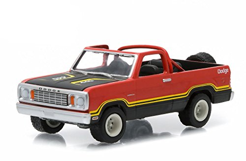 1978 DODGE RAMCHARGER (Orange) * All-Terrain Series 1 * 2015 Greenlight Collectibles 1:64 Scale Die-Cast (Dodge Ramcharger)