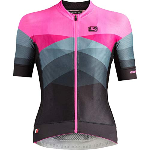 Giordana Moda FR-C Pro Short-Sleeve Jersey - Women's Dolomiti/Pink, L