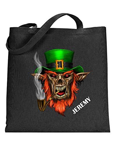 Leprechaun Demon Halloween Personalized Trick or Treat Bag]()