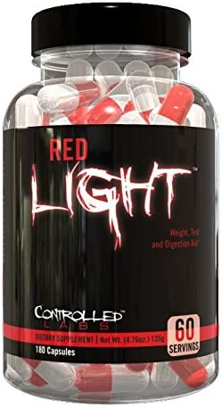 Controlled Labs Red Light 180 Count
