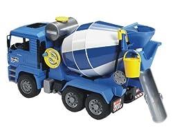 Bruder Man TGA Cement Mixer Vehicle by Bruder