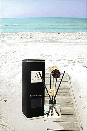 Fragrancea Reed Diffuser Set, Fresh Linen, 3.4 fl oz ()