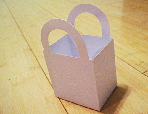 White Favor Box or Bag | 12 Ct