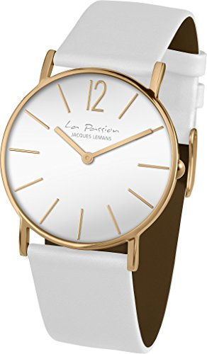 Jacques Lemans La Passion LP-122G Wristwatch for women Flat & light