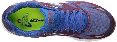 Skechers Rendimiento Ir funcionamiento del paseo de 5 Houston 2016 zapatillas de running Red/Blue