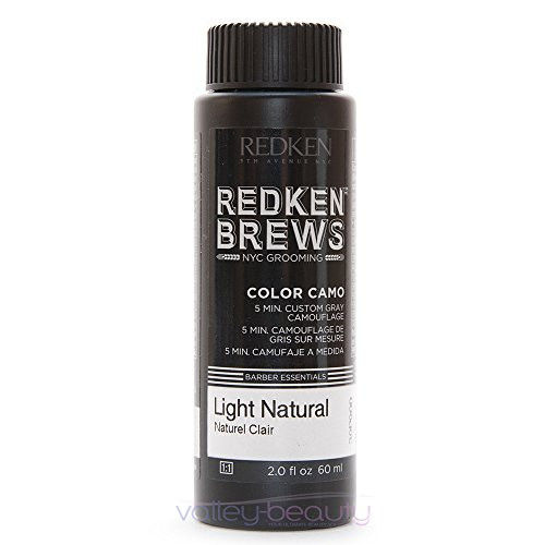 - Redken For Men 5 Minute Color Camo - Light Natural 3 bottles 2oz each