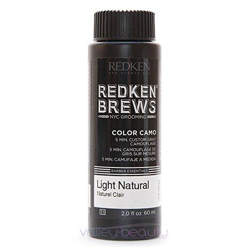 - Redken For Men 5 Minute Color Camo - Light Natural 3 bottles 2oz each