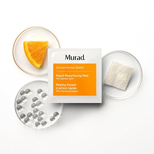 Murad Rapid Resurfacing Anti-Aging Peel - (16 pack), A Powerful Blend of 10% Glycolic Acid and Vitamin C That Instantly Retexturizes Skin, Enhances Radiance, and Evens Tone Without Irritation. by Murad (Image #1)