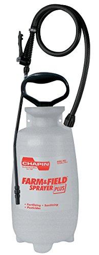 - Chapin International Chapin Farm and Field 2-Gallon Poly Sprayer Plus 2802E, 2 Gallon, Gray