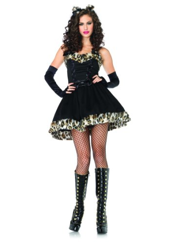 Girls Kitty Cheshire Costumes (Sexy Cat Adult Kitty Frisky Feline Halloween Costumes)