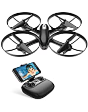 Potensic Upgraded U47 Camera Drone, FPV WIFI RC Quadcopter with 720P HD Camera Live Video, Altitude Hold, Headless Mode,Detachable Modular Battery, One Key Return