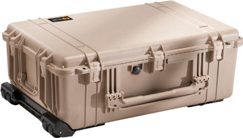 Pelican Products 1650-024-190 Pelican 1650-024-190 Large Case with Padded Dividers (Desert Tan) [並行輸入品]   B072Z6W149