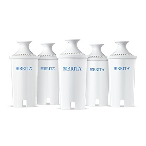 $23.47 ($27.97) Brita Water Filter Pitcher Advanced Replacement Filters, 5 Count
