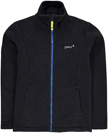 Kids Girls Gelert Ottawa Fleece Jacket Junior Full Zip Top Long Sleeve New