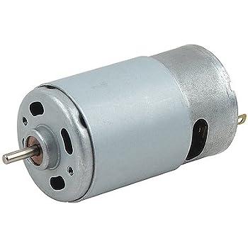 Amazon Com Rs 550s 18v 6v 24v Dc Motor Round Shaft