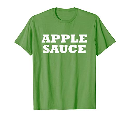 Apple Sauce Food Halloween Costume Party Funny T Shirt ()