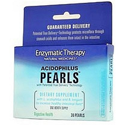 Enzymatic Therapy Acidophilus Pearls™ 30 caps ( Multi-Pack)