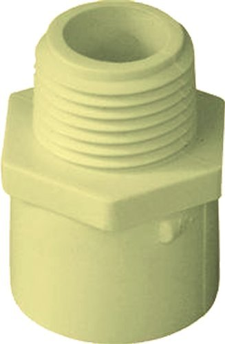 Schedule 40 S x MIP Plumbers Choice 97274 CPVC Fitting 1-1//2-Inch MIP Adapter