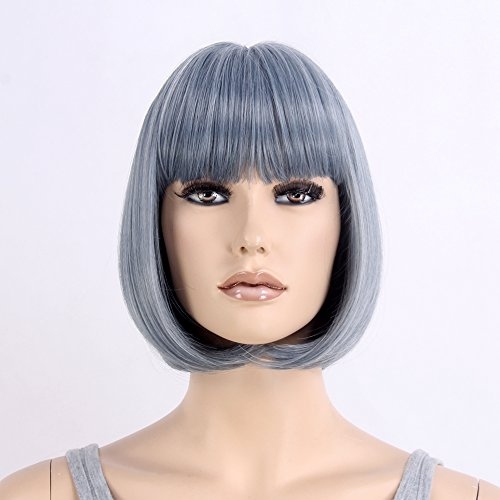 [STfantasy Wigs for Women Short Hair Cosplay Synthetic Bob Wig 12