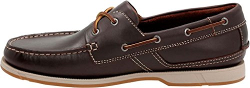 CLARKS Men's Fulmen Row Boat Shoe Dark Brown Cow Full Grain Leather outlet 100% authentic free shipping really where can you find flhA41aW