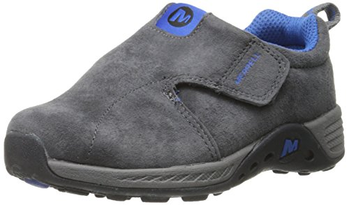 Youth Jungle Moc - Merrell Jungle Moc Sport A/C Outdoor Shoe (Toddler), Grey/Blue, 5.5 M US Toddler