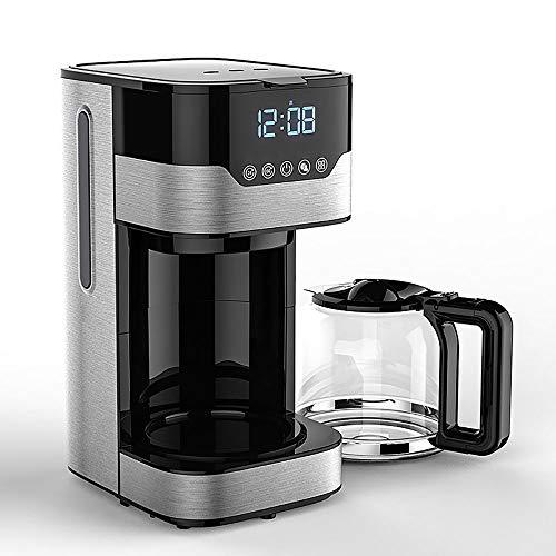RLIRLI Cafetera De Goteo, Cafetera De 1,5 litros (hasta 12 Tazas), Temporizador Programable De 24 Horas con Pantalla LCD…