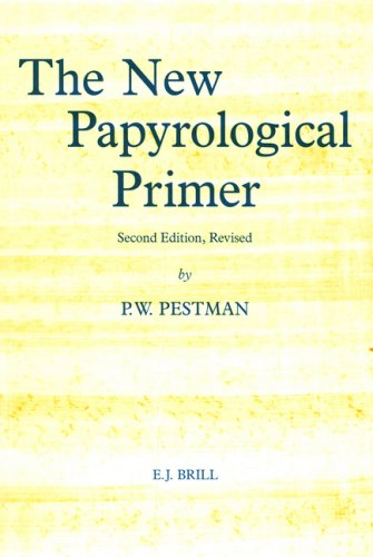 The New Papyrological Primer