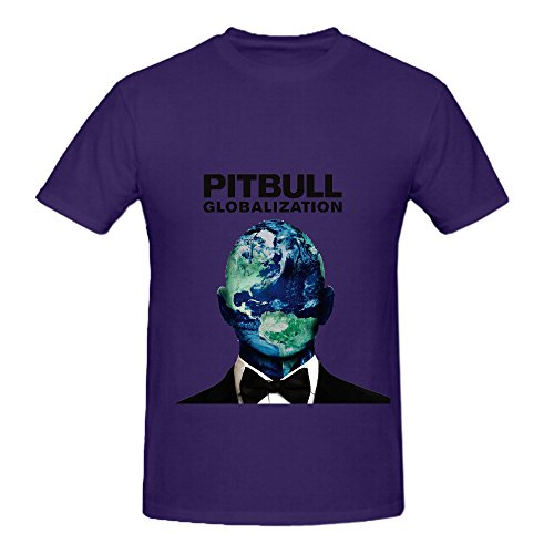 pitbull-globalization-rb-album-cover-men-crew-neck-100-cotton-shirts-purple