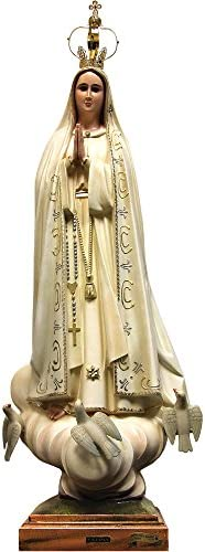 40 Inch Our Lady of Fatima Statue Religious Figurine Virgin Mary 1039V