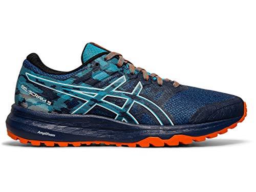 ASICS Women's Gel-Scram 5 Trail Running Shoes, 9M, Blue Expanse/White