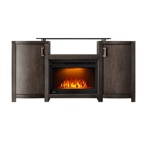 Cheap Napoleon Whitney Electric Fireplace TV Stand in Deep Grey Wash Finish Black Friday & Cyber Monday 2019