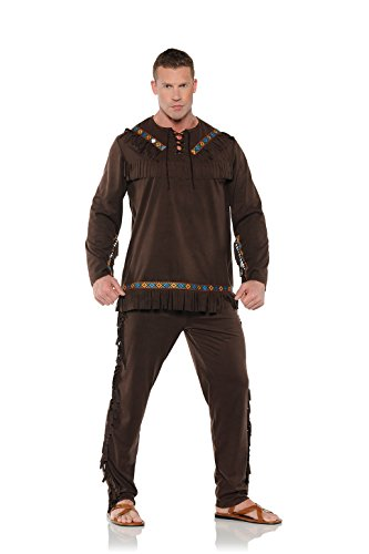[Men's Native American Inspired Costume - Chief] (Family Themed Halloween Costumes 2016)