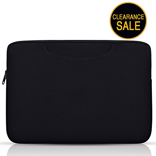 Laptop Sleeve 13-13.3 inch - HENGSHENG Waterproof Tablet Bag Carrying Case for Apple MacBook Air 13 inch/Pro 13 inch/All iPad/Tablet Bag -Black